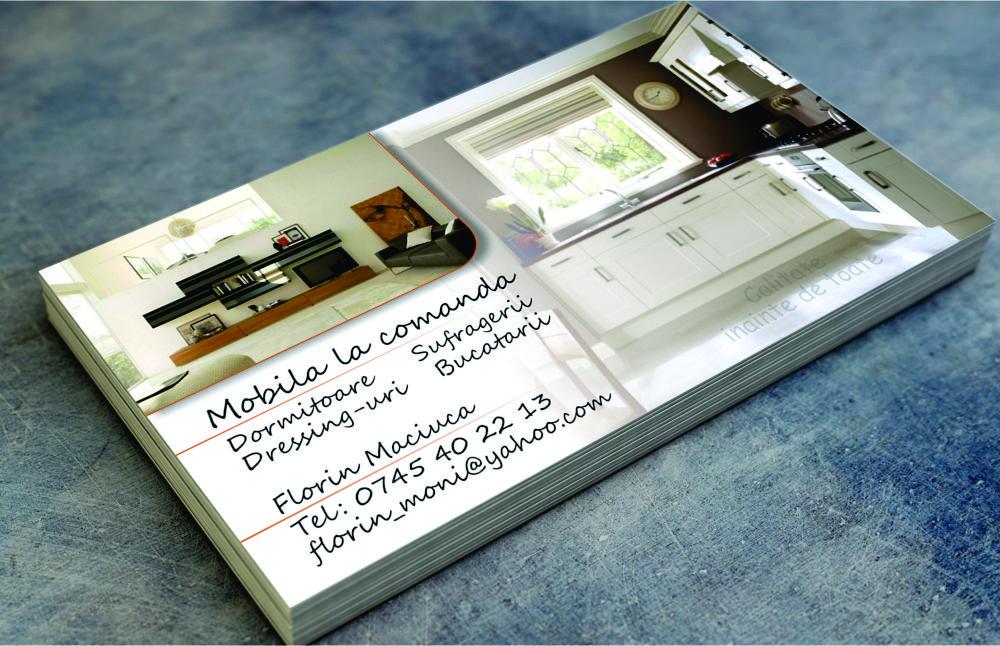 Carti de vizita Mobila la comanda