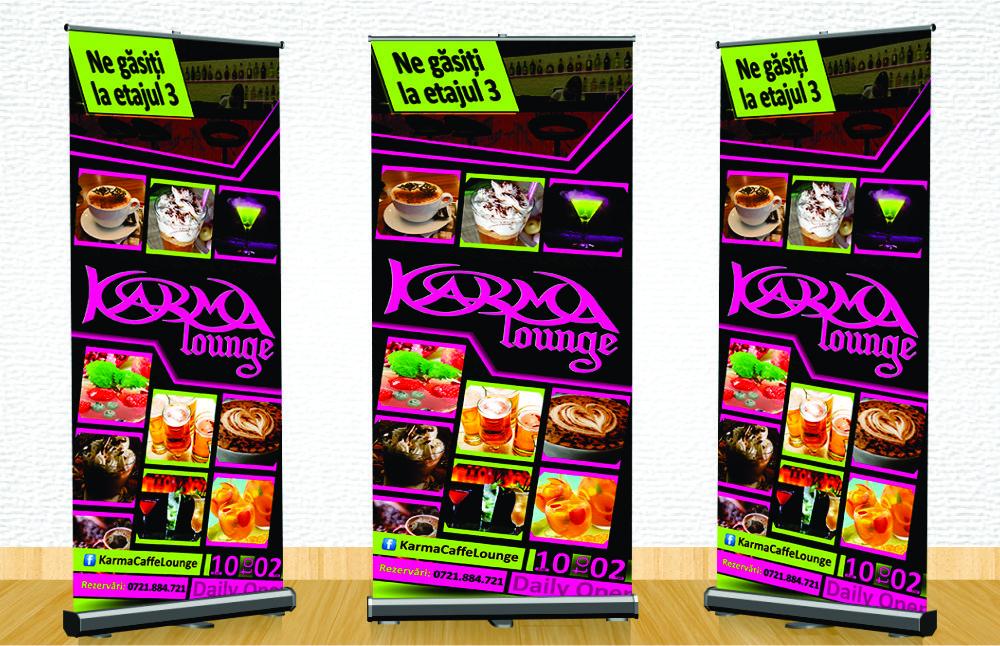 Grafica Roll Up karma Lounge