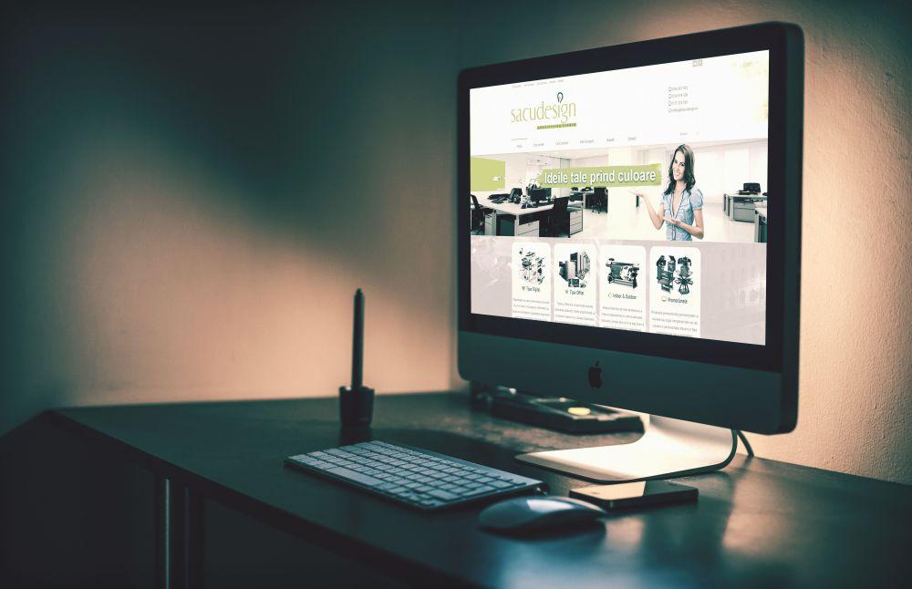 SacuDesign - Website Tipografie Bucuresti