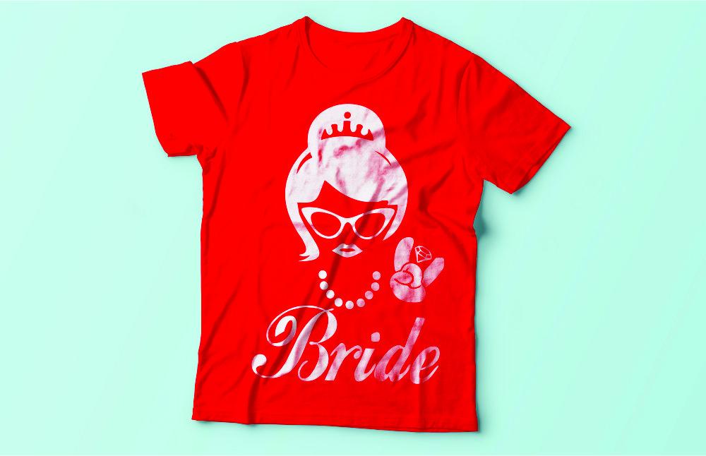 tricou mireasa - bride t-shirt