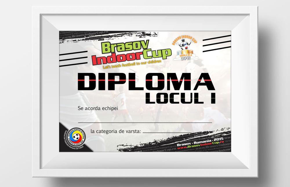 DIploma Brasov Indoor Cup
