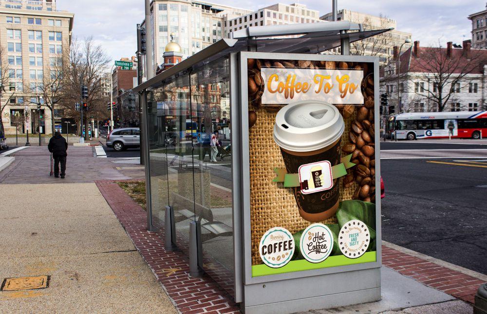 Grafica Vizual Add - Coffee To Go Brasov