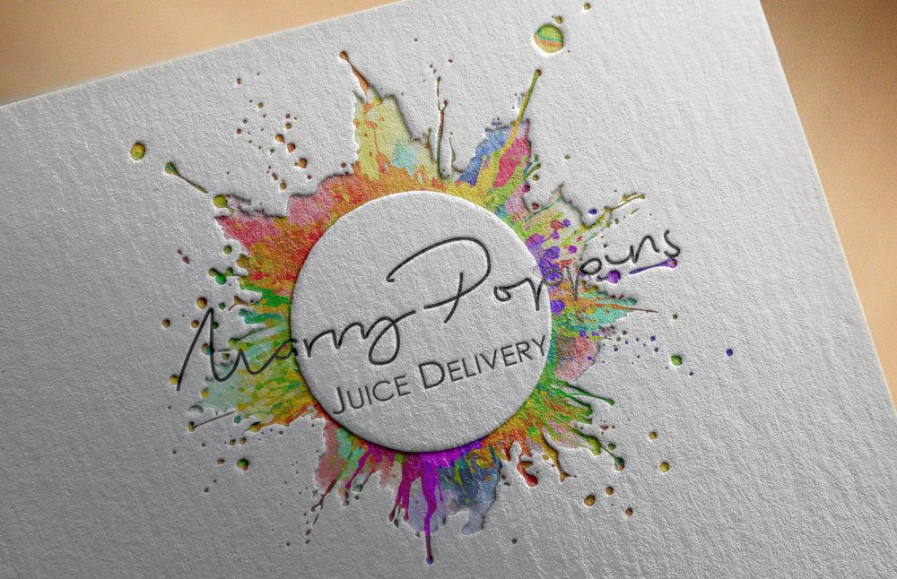 Marry Poppins Juice Delivery Logo