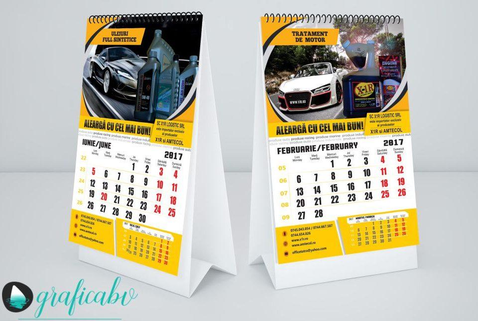 Grafica - Design Calendar Perete A3