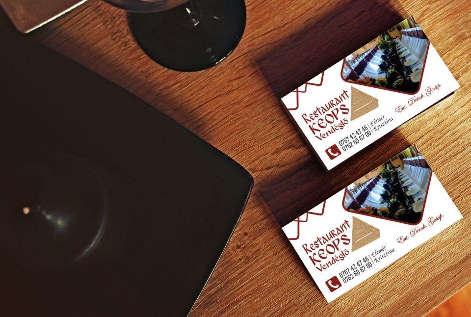 Grafica - Design Carti de vizita Restaurant Keops