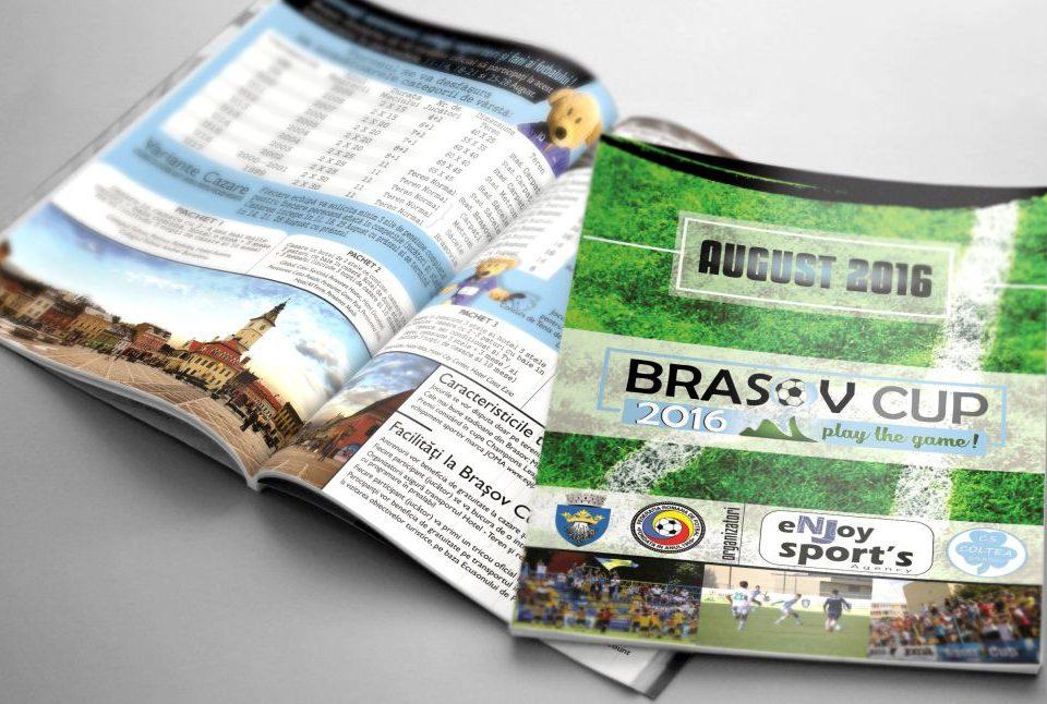 Grafica Revista Turneu Fotbal Brasov Cup 2016