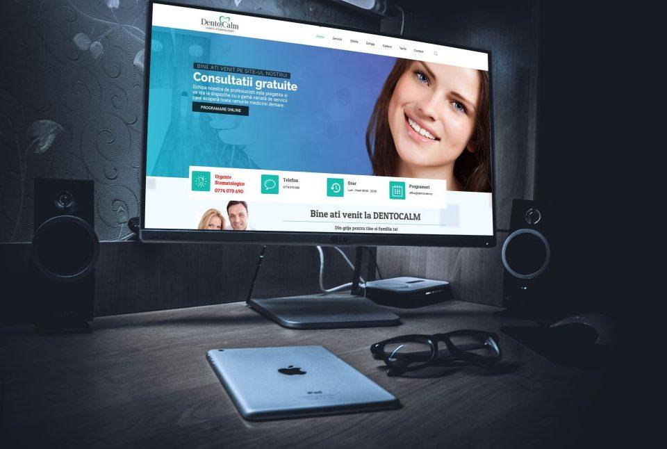 Website Clinica Stomatologica Dentocalm Cluj Napoca