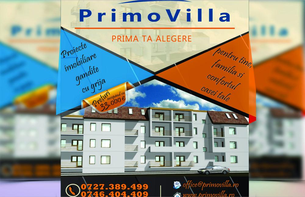 Flyer Primovilla Brasov
