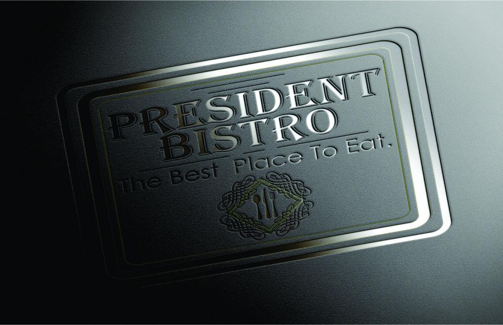 Grafica logo President Bistro