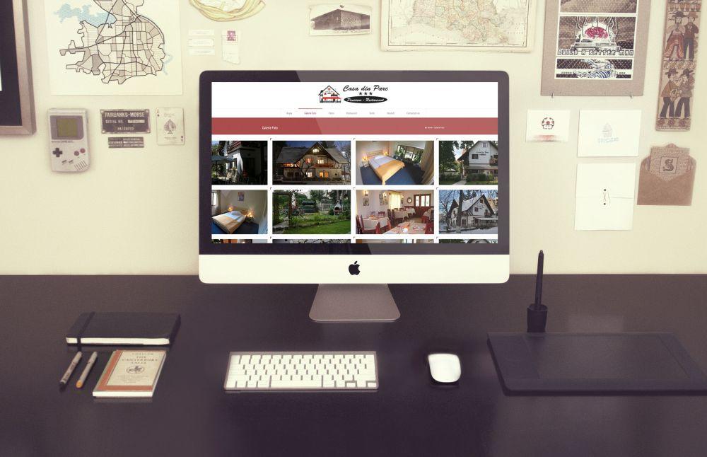 Realizare website Pensiune Covasna