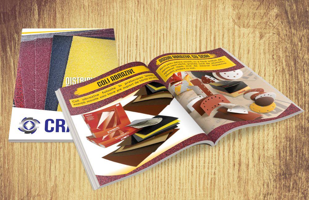 Grafica Catalog Prezentare produse - CRAD Brasov