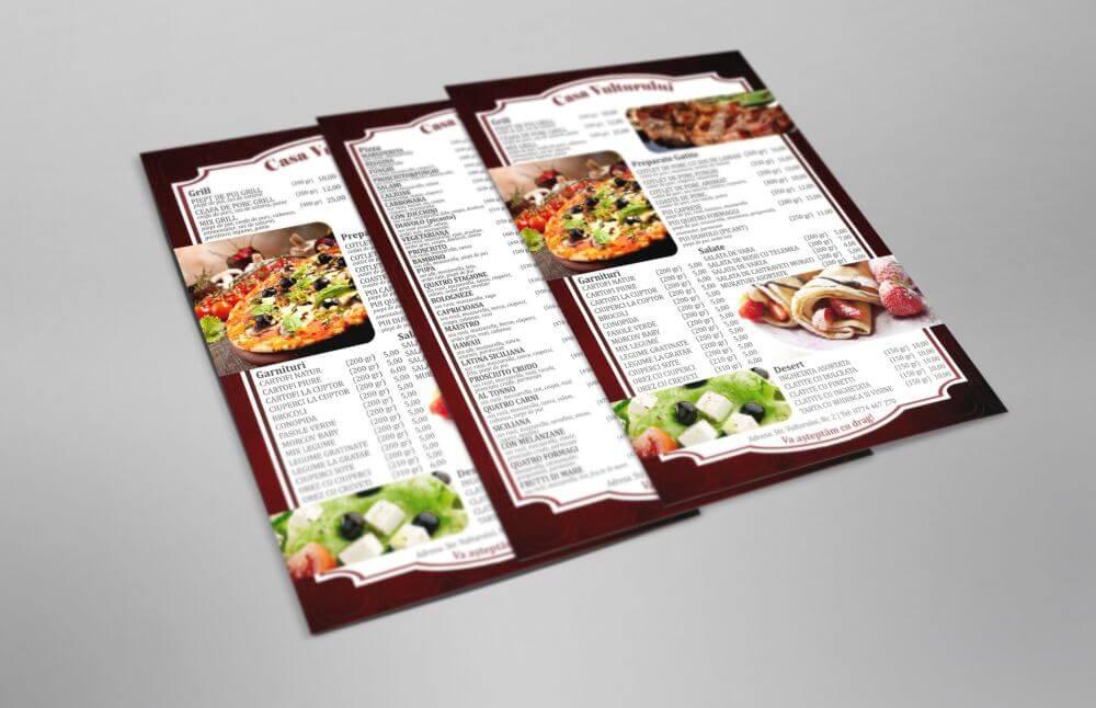 Grafica flyer Restaurant - Pub