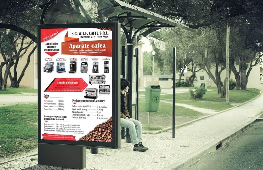 Grafica vizual Aparate cafea