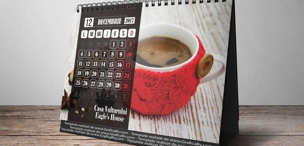 Grafica - Design Calendar Birou A5