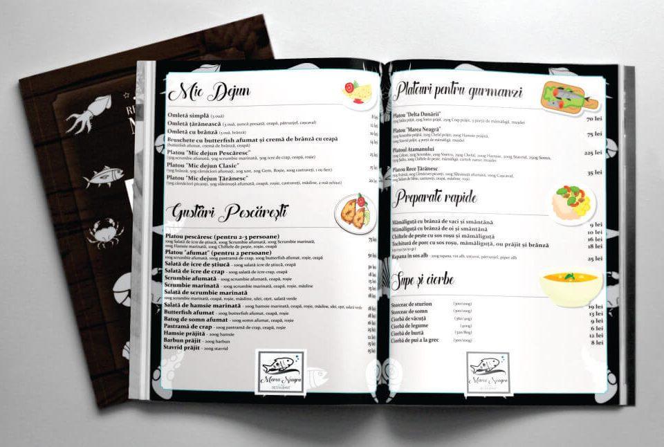 Meniu Restaurant Marea Neagra