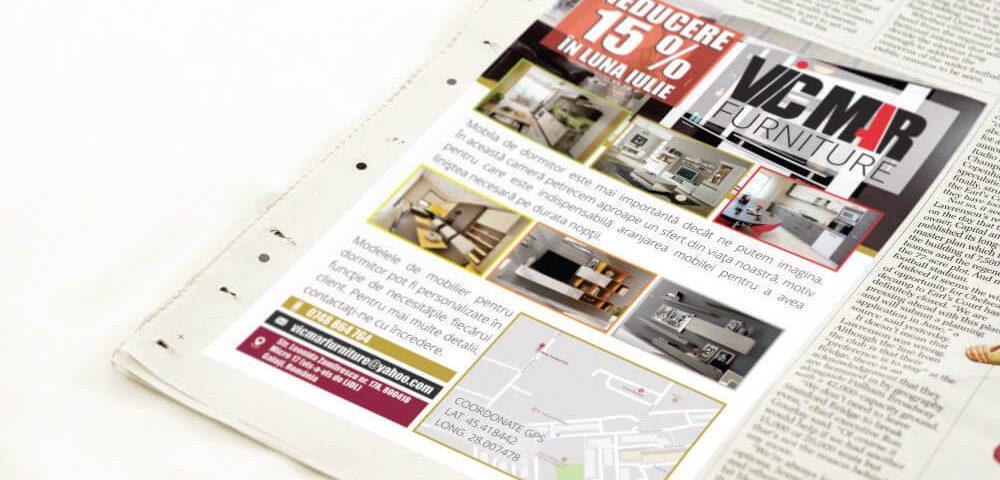 Flyer mobila la comanda - Vicmar Furniture 2