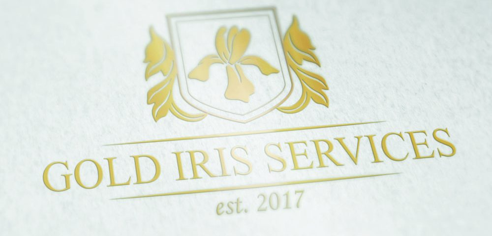 Logo Gold Iris Services