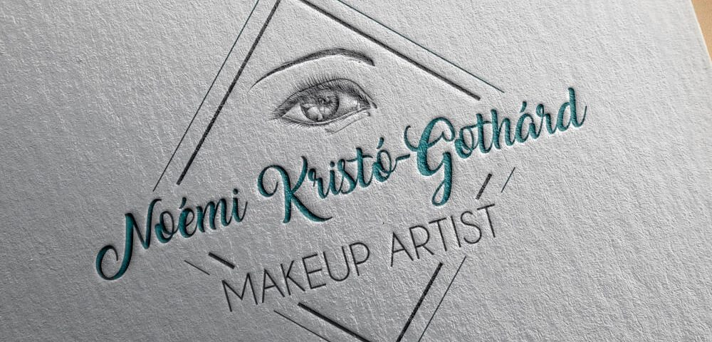 Design Logo Make up Artist