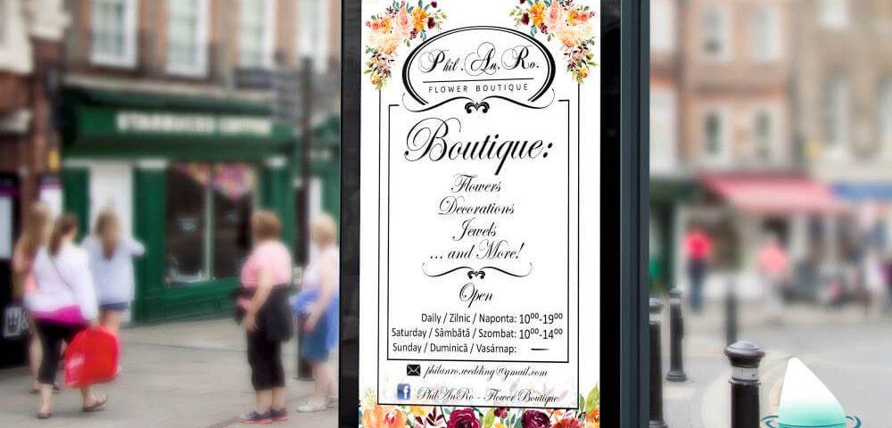Grafica Vizual Flower Boutique