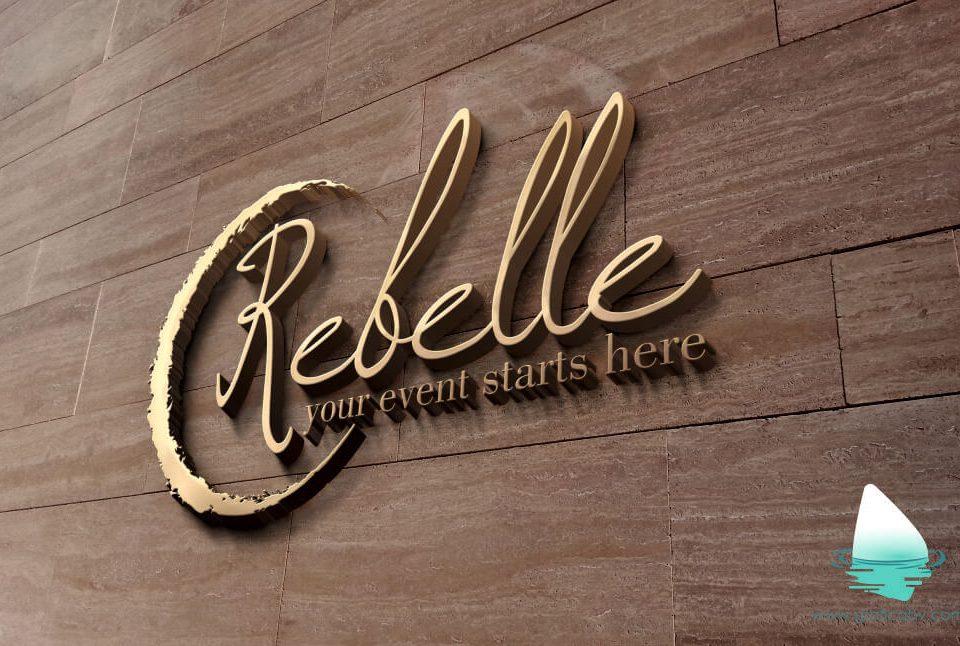 Grafica logo Restaurant Rebelle