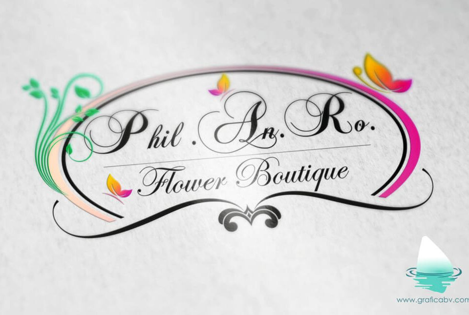 Redesign Logo Flower Boutique