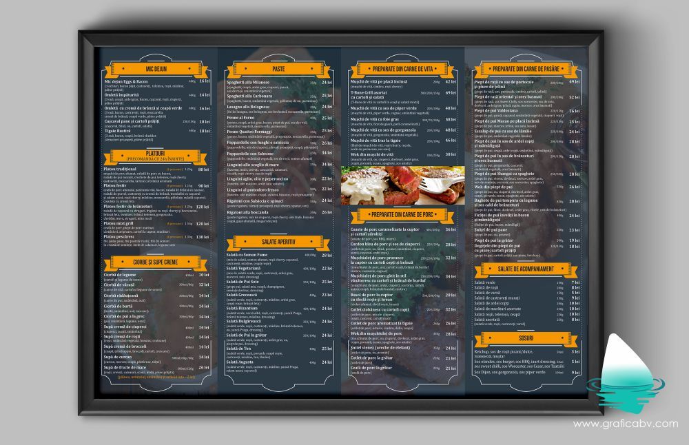 Grafica meniu Padrino Restaurant Suceava (2)