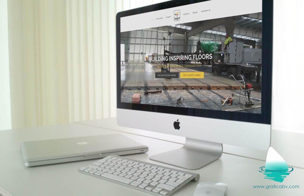 Website de prezentare IMPV Romania